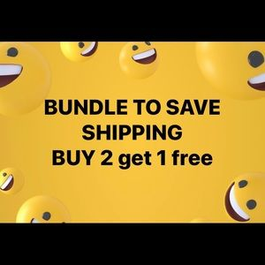 Bundle to save shipping fee
